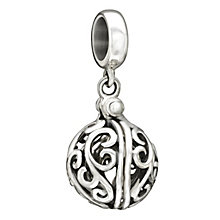 Chamilia sterling silver Secret Treasure 'Hidden Love' bead - Product number 1750984