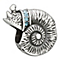 Chamilia sterling silver Swarovski crystal sea snail charm - Product number 1751123