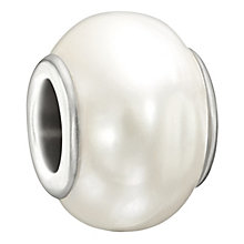 Chamilia Odyssey sterling silver white freshwater pearl bead - Product number 1751131