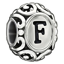 Chamilia sterling silver letter F bead - Product number 1751247
