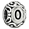 Chamilia sterling silver letter O bead - Product number 1751352