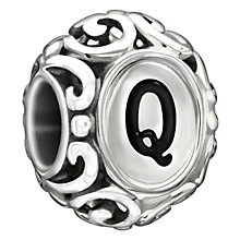 Chamilia sterling silver letter Q bead - Product number 1751379