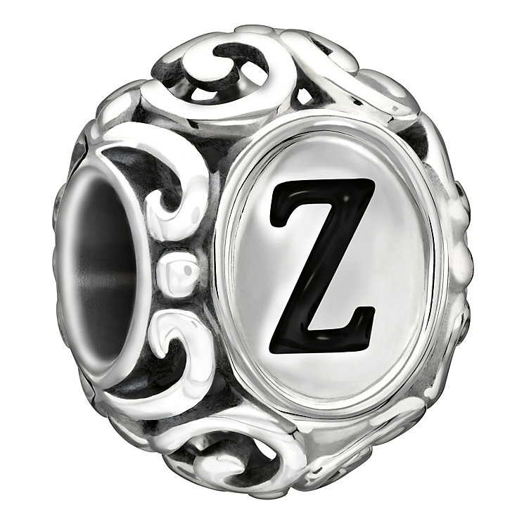 Chamilia sterling silver letter Z bead - Product number 1751484