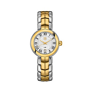 TAG Heuer Link ladies' two colour bracelet watch - Product number 1754769