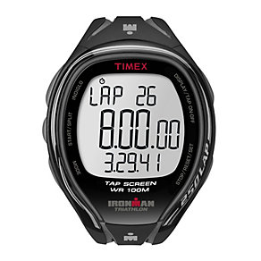 Timex Ironman 250 Lap Men's Black Resin Strap Watch - Product number 1756079