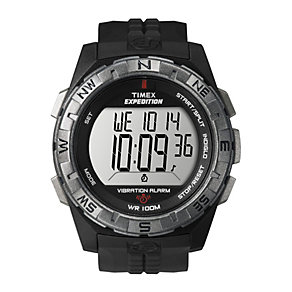Timex Expedition Vibration Alarm Men's Resin Strap Watch - Product number 1757121