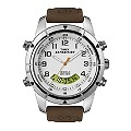 Timex Expedition Metal Combo Men's Brown Leather Strap Watch - Product number 1757229