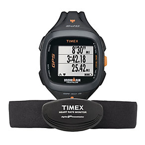 Timex Ironman Run Trainer 2.0 GPS & HRM Resin Strap Watch - Product number 1757253