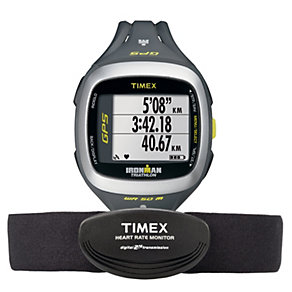 Timex Ironman Run Trainer 2.0 GPS & HRM Resin Strap Watch - Product number 1757261