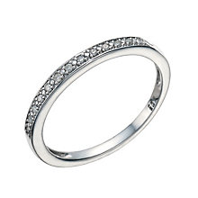 9ct White Gold Diamond Perfect Fit Eternity Ring - Product number 1760920
