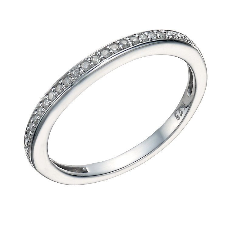 Perfect Fit 9ct White Gold Diamond Eternity Ring - Product number 1761323
