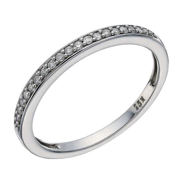 Perfect Fit 9ct White Gold Diamond Eternity Ring - Product number 1761633