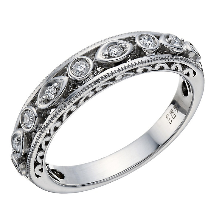 Perfect Fit Signature 9ct White Gold Diamond Eternity Ring - Product number 1762141