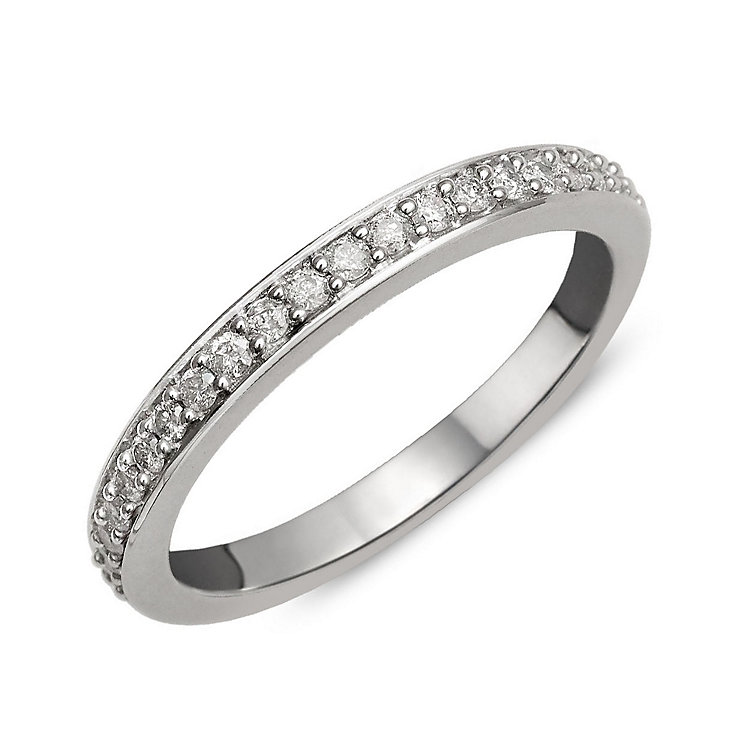 Perfect Fit 9ct White Gold Diamond Eternity Ring - Product number 1762281