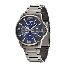 Police Men's Gunmetal Grey Ion-Plated Bracelet Watch - Product number 1763490