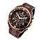 Police Men's Chronograph Brown Ion-Plated Bracelet Watch - Product number 1763520