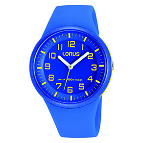 Lorus Kid's Blue Strap Watch - Product number 1763660