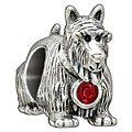 Chamilia Sterling Silver Crystal Arthur Scottie Dog Bead - Product number 1765795