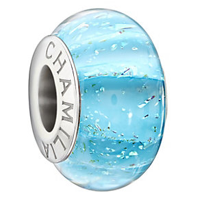 Chamilia Sterling Silver Blue Murano Glass Bead - Product number 1766244