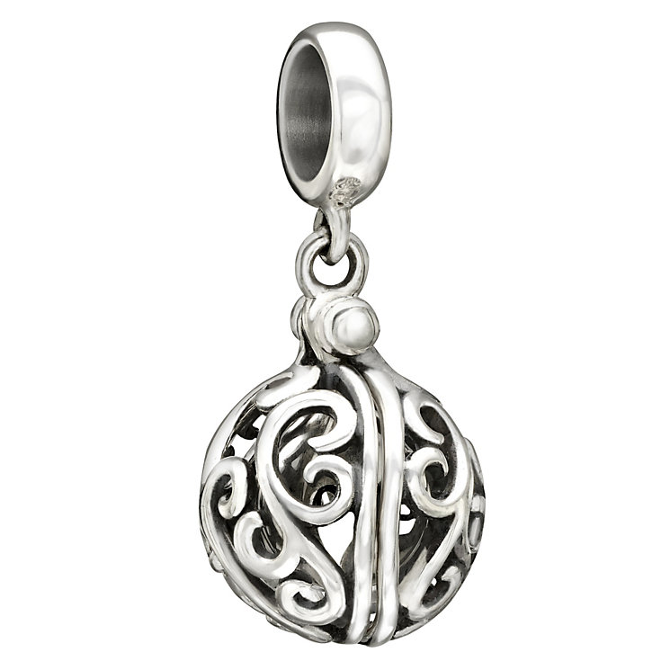 Chamilia Sterling Silver Filigree Love Charm Bead - Product number 1767178