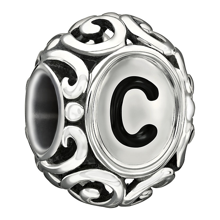 Chamilia Sterling Silver Letter C Bead - Product number 1767445