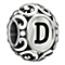 Chamilia Sterling Silver Letter D Bead - Product number 1767453