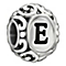 Chamilia Sterling Silver Letter E Bead - Product number 1767461