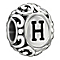 Chamilia Sterling Silver Letter H Bead - Product number 1767518