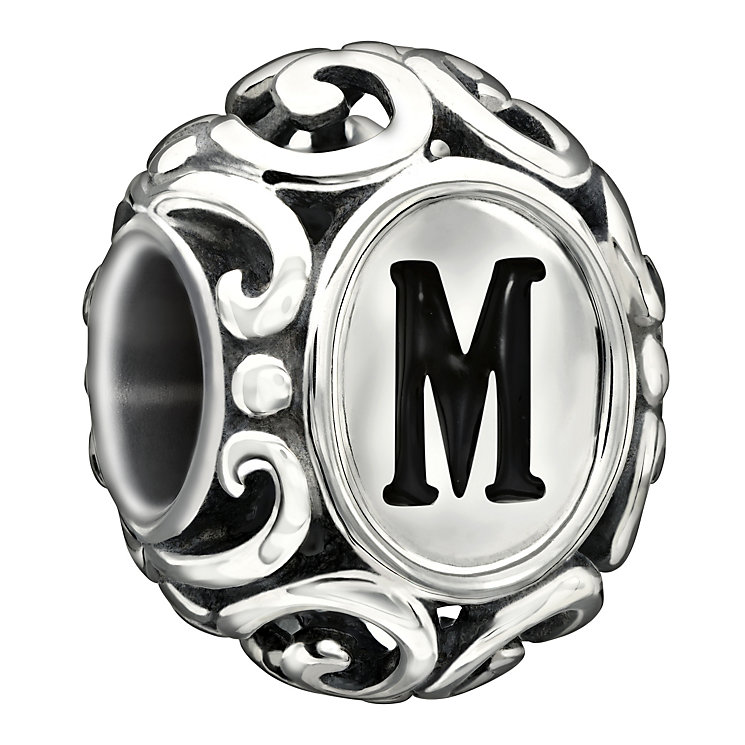 Chamilia Sterling Silver Letter M Bead - Product number 1767569