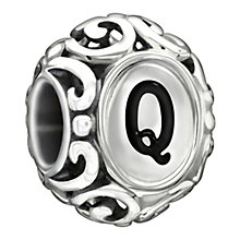 Chamilia Sterling Silver Letter Q Bead - Product number 1767607