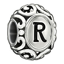 Chamilia Sterling Silver Letter R Bead - Product number 1767615