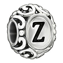 Chamilia Sterling Silver Letter Z Bead - Product number 1767674