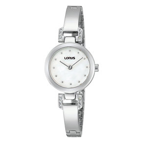 Lorus Ladies' Mother Of Pearl Stainless Steel Bracelet Watch - Product number 1769146