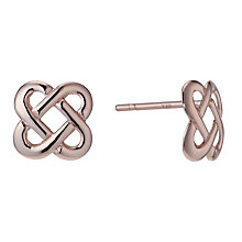 9ct Rose Gold Celtic Stud Earrings - Product number 1769391
