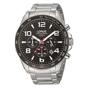 Lorus Men's Chronograph Stainless Steel Bracelet Watch - Product number 1769448