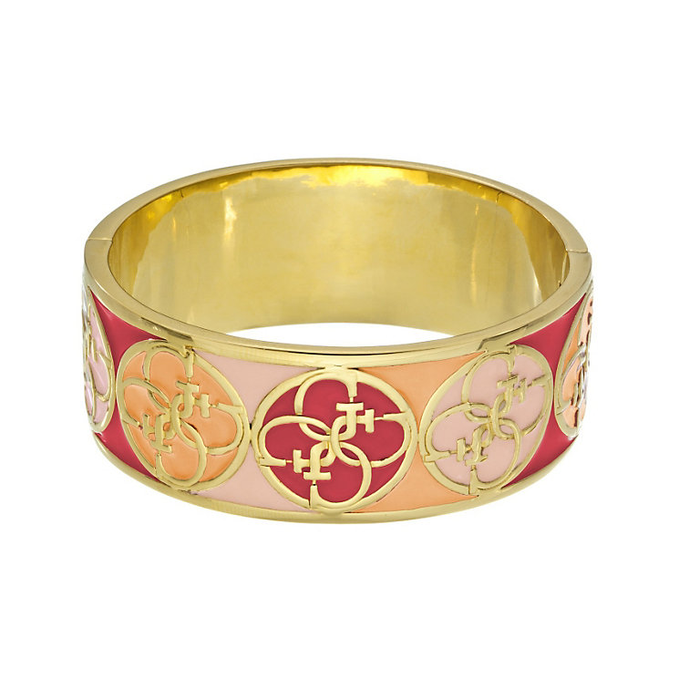 Guess Uptown Girl Gold-Plated 4 G Coral Bangle - Product number 1771361