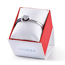 Guess Rhodium-Plated Demi Lizard Effect Leather Bracelet - Product number 1771531