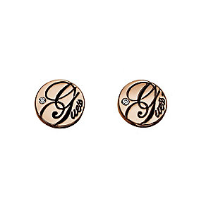 Guess All Mixed Up Rose Gold-Plated Dot Stud Earrings - Product number 1771582