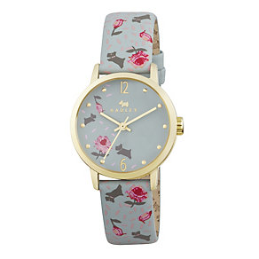 Radley Ladies' Ditsy Flower Print Aura Leather Strap Watch - Product number 1775057