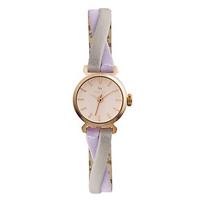 Radley Ladies' Dove & Thistle Leather Crossover Strap Watch - Product number 1775189