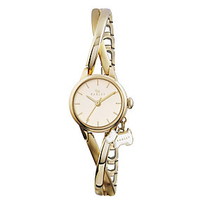Radley Ladies' Gold-Plated Crossover Half Bangle Watch - Product number 1775200