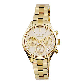 Radley Ladies' Chronograph Gold-Plated Bracelet Watch - Product number 1775243