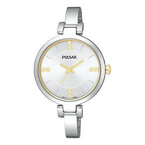 Pulsar Ladies' Stainless Steel Watch With Swarovski Elements - Product number 1776207