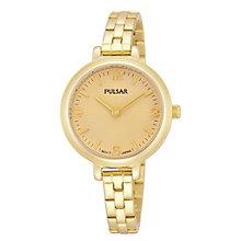 Pulsar Ladies' Gold Tone Bracelet Watch - Product number 1776215