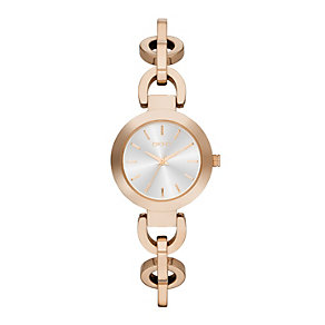 DKNY Stanhope Ladies' Rose Gold-Plated Bracelet Watch - Product number 1776282