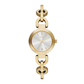 DKNY Stanhope Ladies' Gold-Plated Bracelet Watch - Product number 1776290