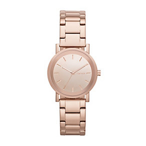DKNY SoHo Ladies' Rose Gold-Plated Bracelet Watch - Product number 1776320