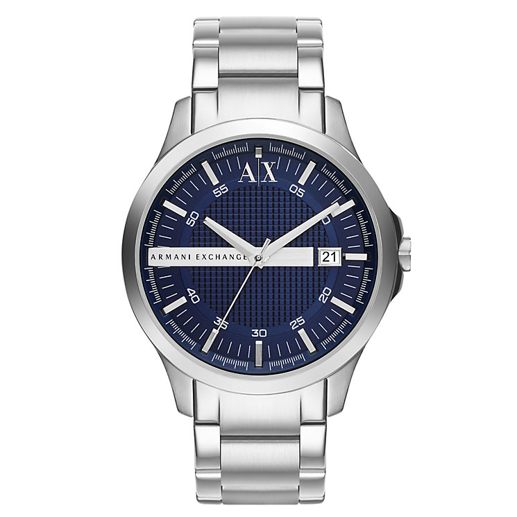 Armani Exchange Men's Smart Stainless Steel Bracelet Watch - Product number 1776428