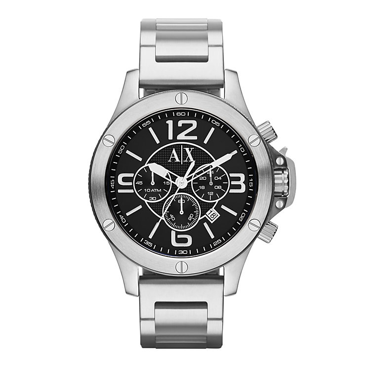 Armani Exchange Men's Active Stainless Steel Bracelet Watch - Product number 1776479