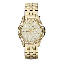 Armani Exchange Ladies' Gold-Plated Bracelet Watch - Product number 1776525
